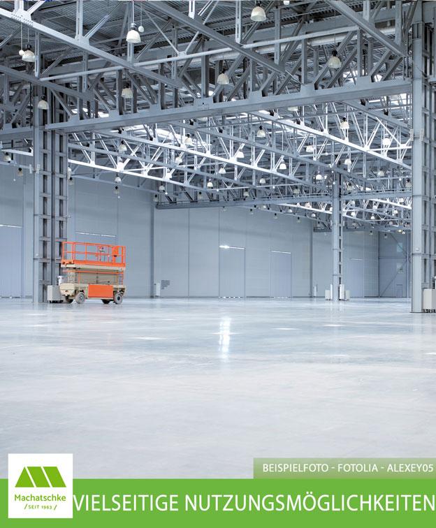 Verkehrsgünstig - Industrie - Lager - Produktion - Tageslicht - Beheizbar