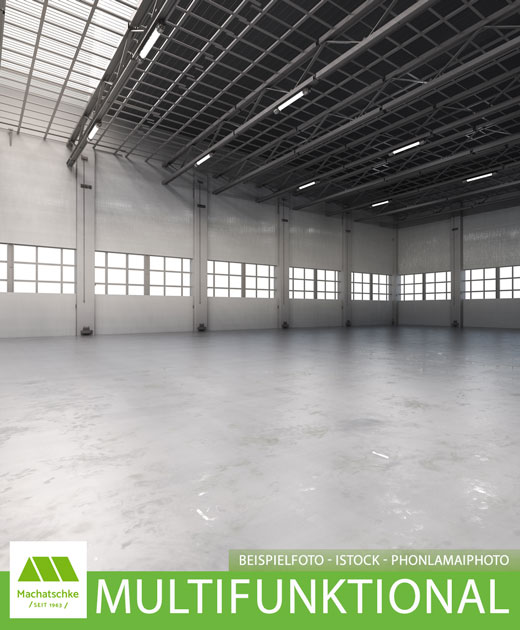 Multifunktionales Gewerbeanwesen für Lager, Produktion und Logistik mit Freifläche