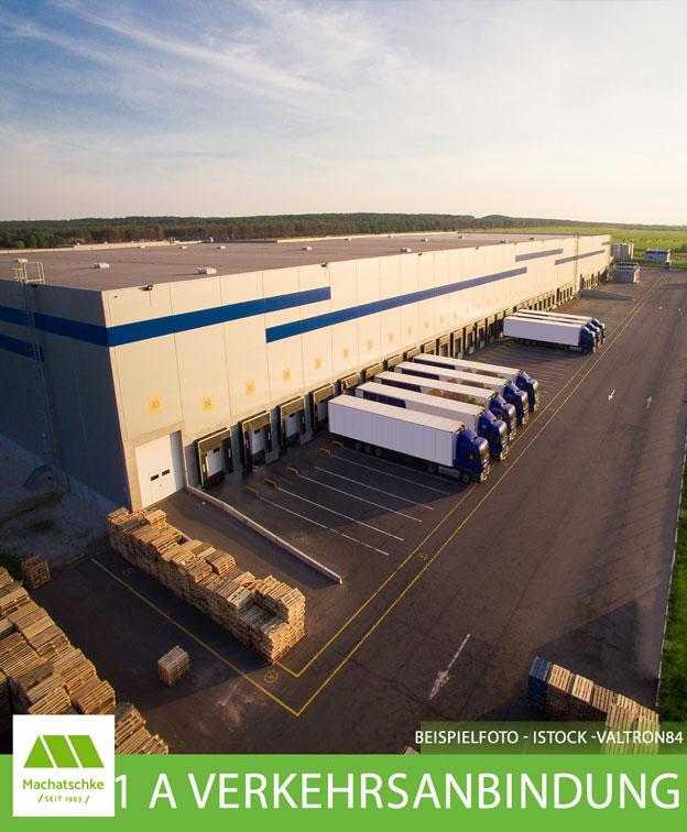 Logistik - Lager - Produktion - 1 A Verkehrsanbindung