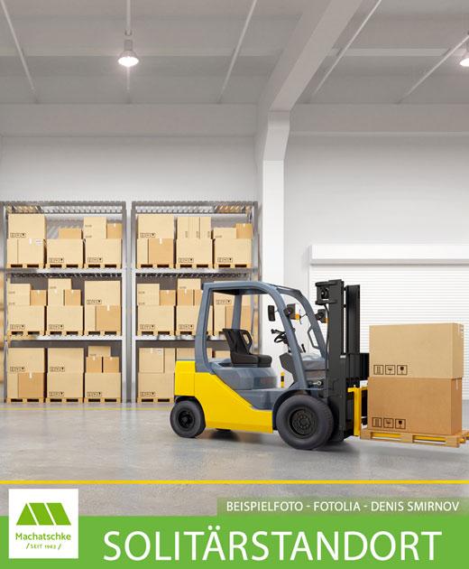 Bestand und Neubau für Lager, Produktion und Logistik