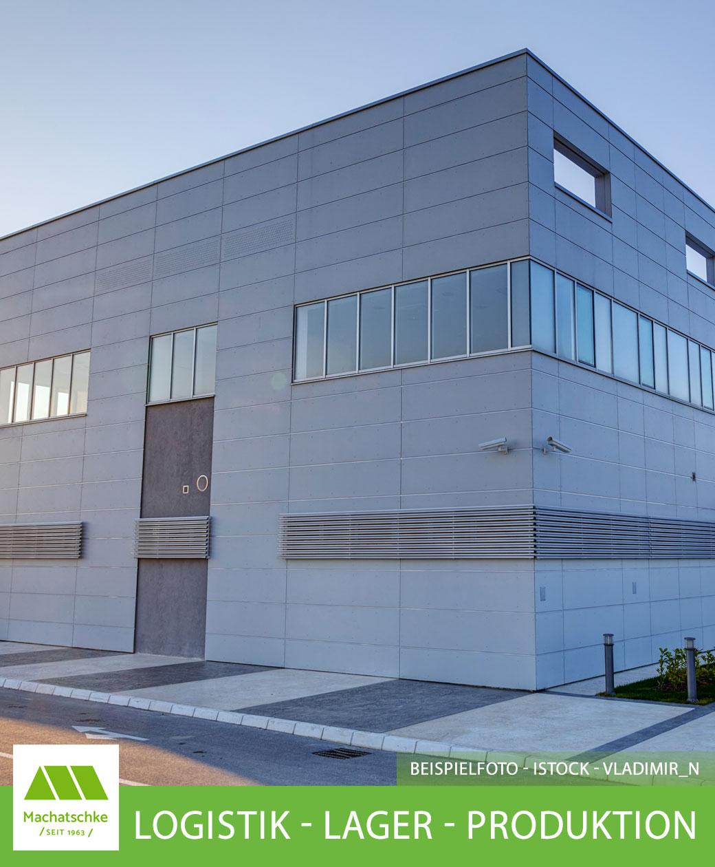 Logistik - Lager - Produktion - Großhandel - Onlinehandel - Solitärstandort