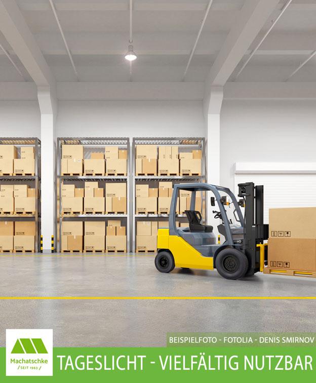 Logistik - Lager - Handwerk - Vielfältig nutzbar - Solitärstandort - Tageslicht