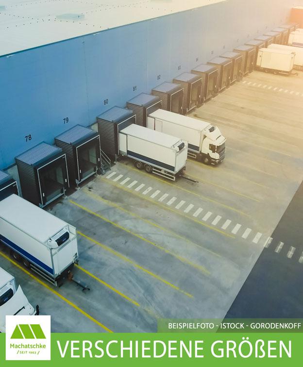 Logistik-/ Lager-/ Produktionspark - Hallen in verschiedenen Größen von 1.600 m² bis 25.000 m²