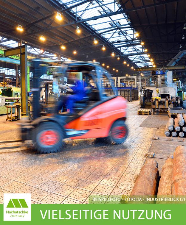 Vielseitige Nutzungsmöglichkeiten - Lager - Produktion - Verpackung - Logistik