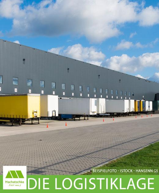 Logistik - Lager - Produktion - Büro - 1 A Verkehrsanbindung