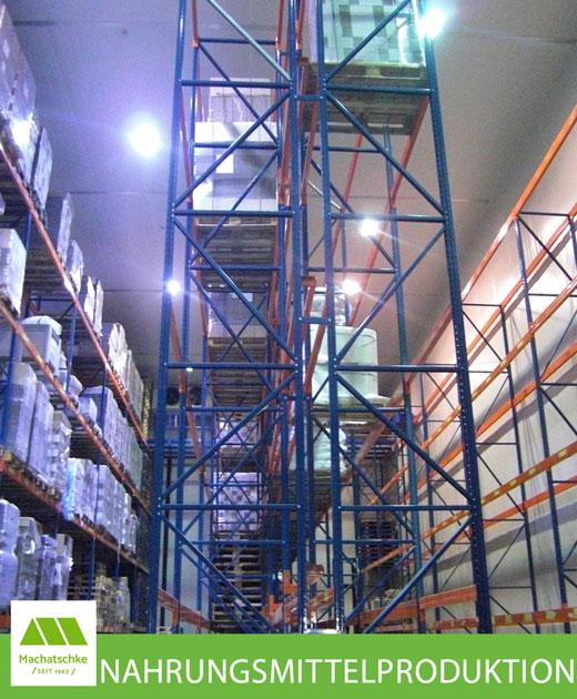 Betriebsgelände für die Herstellung u. Verarbeitung von Nahrungsmittel aller Art