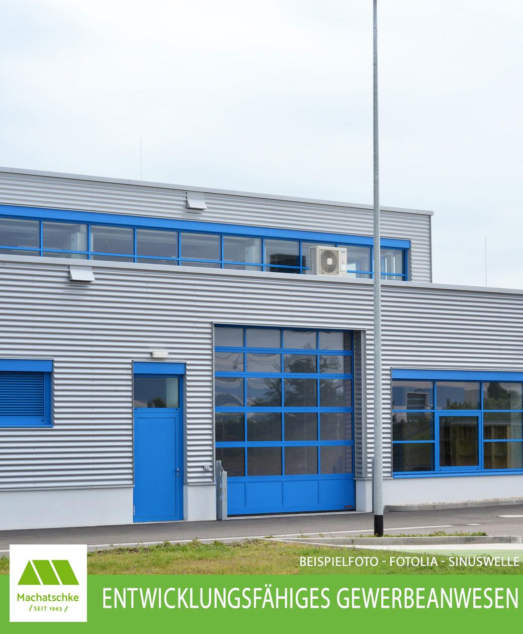Entwicklungsfähiges Gewerbeanwesen im nordlichen Landkreis von Heilsbronn - (Beispielfoto)