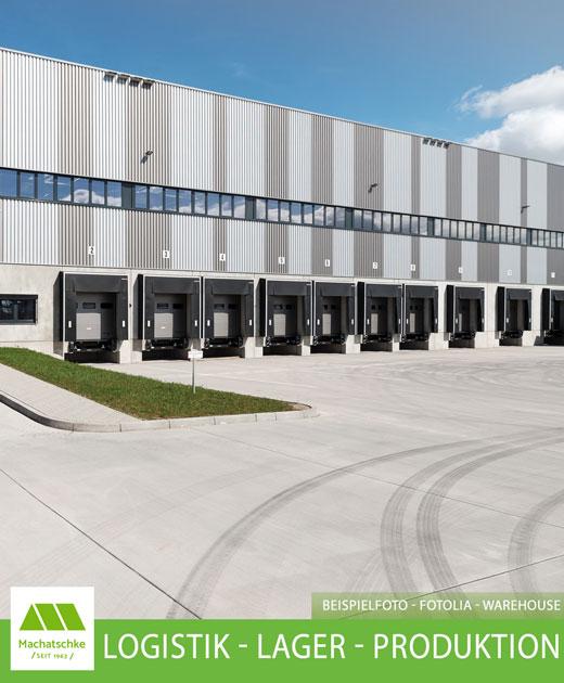 Logistik - Lager - Produktion - 1A Verkehrsanbindung