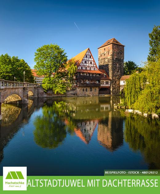 Gelegenheit im Herzen der Altstadt! Denkmalschutz - Juwel mit Dachterrasse!