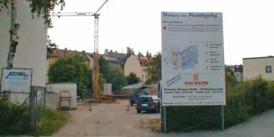 Vermittlung eines großen Wohnbaugrundstücks für Eigentumswohnungen