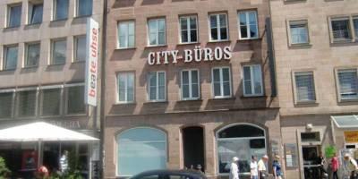 Ladenlokal in der Nürnberger Königstraße vermittelt